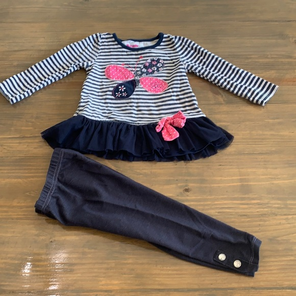 Nannette kids outfit. Size 2t.